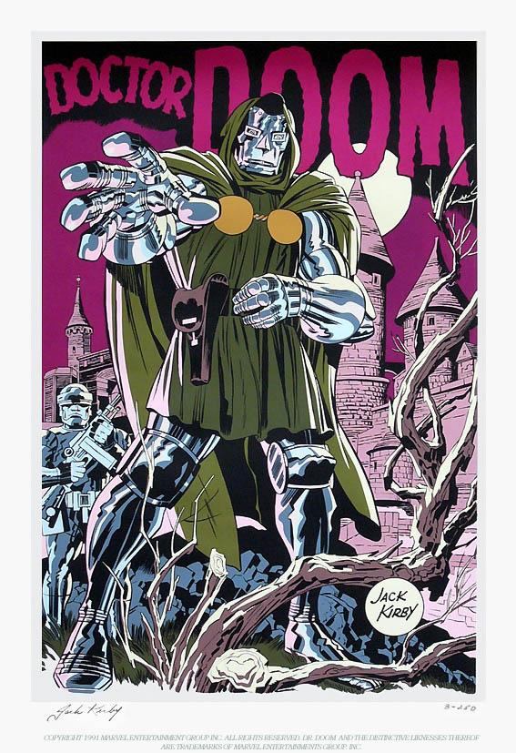 Dr. Doom Serigraph
